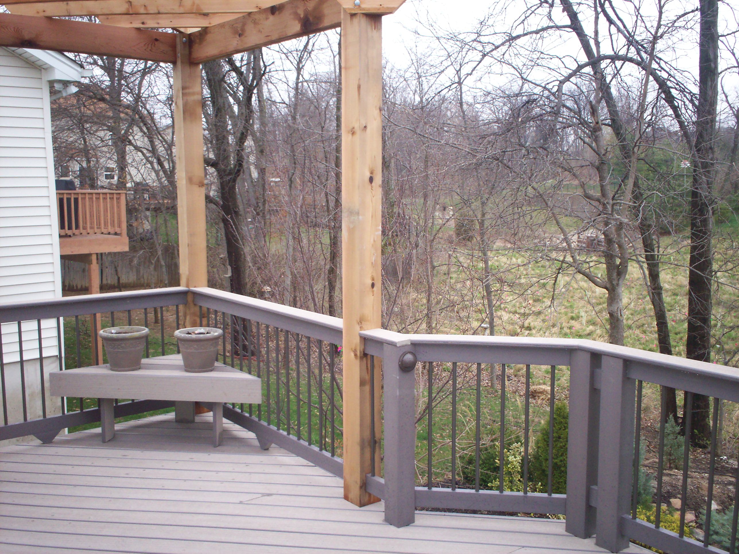 composite decking options | St  Louis decks, screened