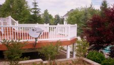 Multilevel Pool and Spa Deck in St. Louis, Wildwood area