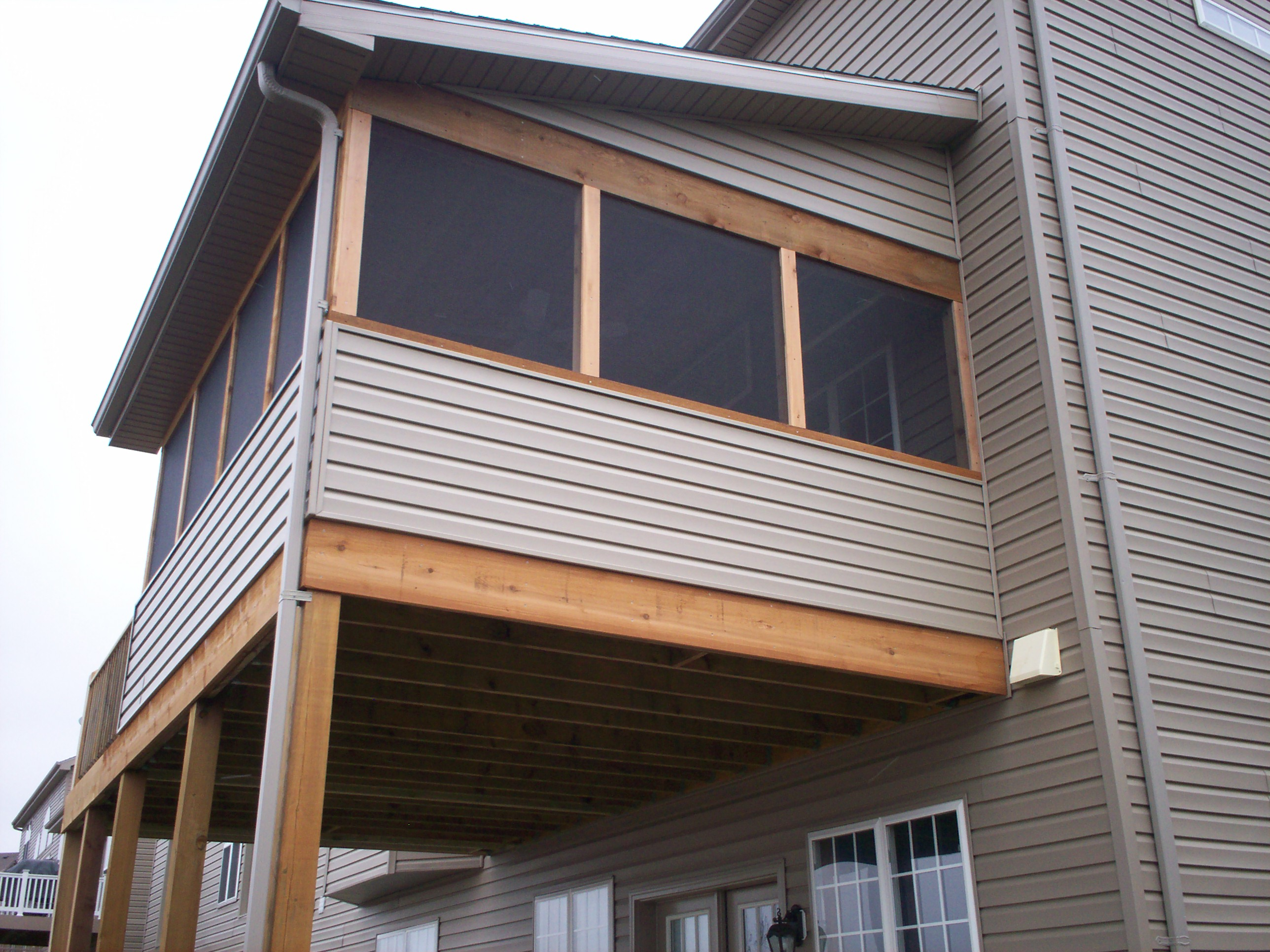 Elevated Screened Porch In St Louis 2576 1932
