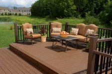 Free Standing Decks, photo by TimberTech