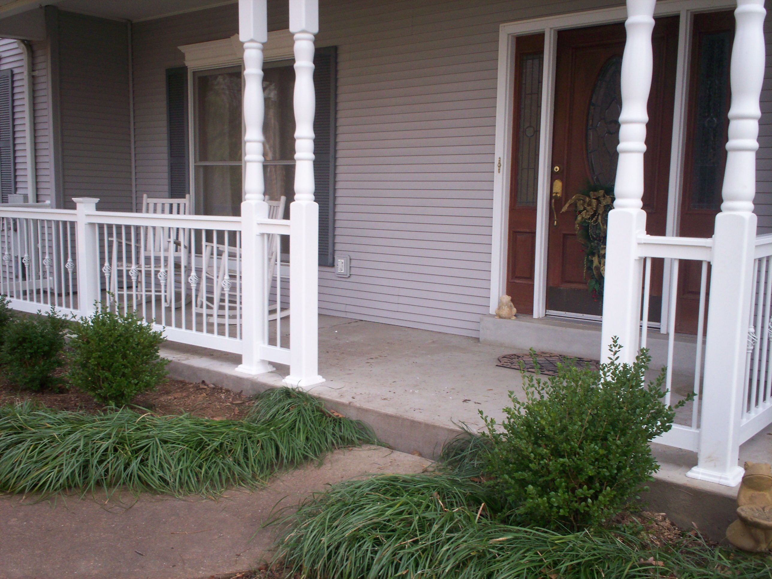 American front porch st louis decks screened porches for House plans with columns and porches