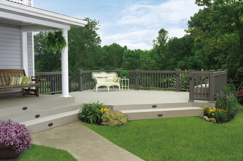Timbertech terrain st louis decks screened porches for Terrain decking