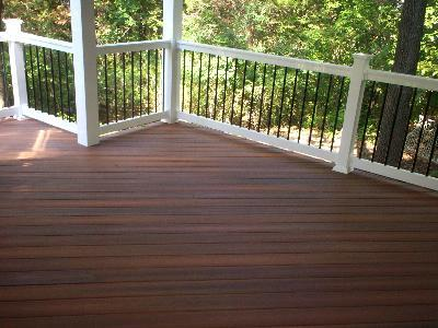 St louis deck contractors wood composite or vinyl st for Capped composite decking