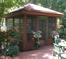 Deck and porch builder in st louis and st charles your for Detached screened porch