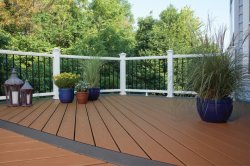 Trex Deck with Color Change, photo by Trex