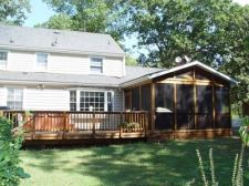 Decks with Screened In Porches for Level Backyards by Archadeck