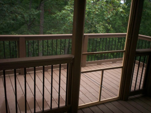 EverGrain Composite Deck and Screened Porch in St. Charles