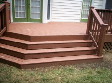 Custom Decks with Wide Stairs, St. Louis Mo by Archadeck