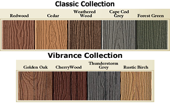 Evergrain composite decking colors st louis decks for Evergrain decking vs trex