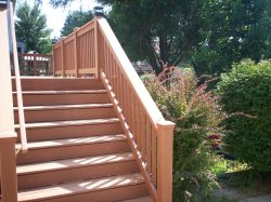 St. Louis Decks with Wide Stairs by Archadeck