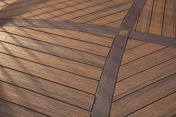 St louis decks two tone decks with dimension st louis for Evergrain decking vs trex