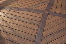 Trex Transcend - Deck Floor Design.  Photo by Trex