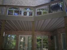 Under Deck Ceiling Covers Patio, Project by Archadeck, St. Louis