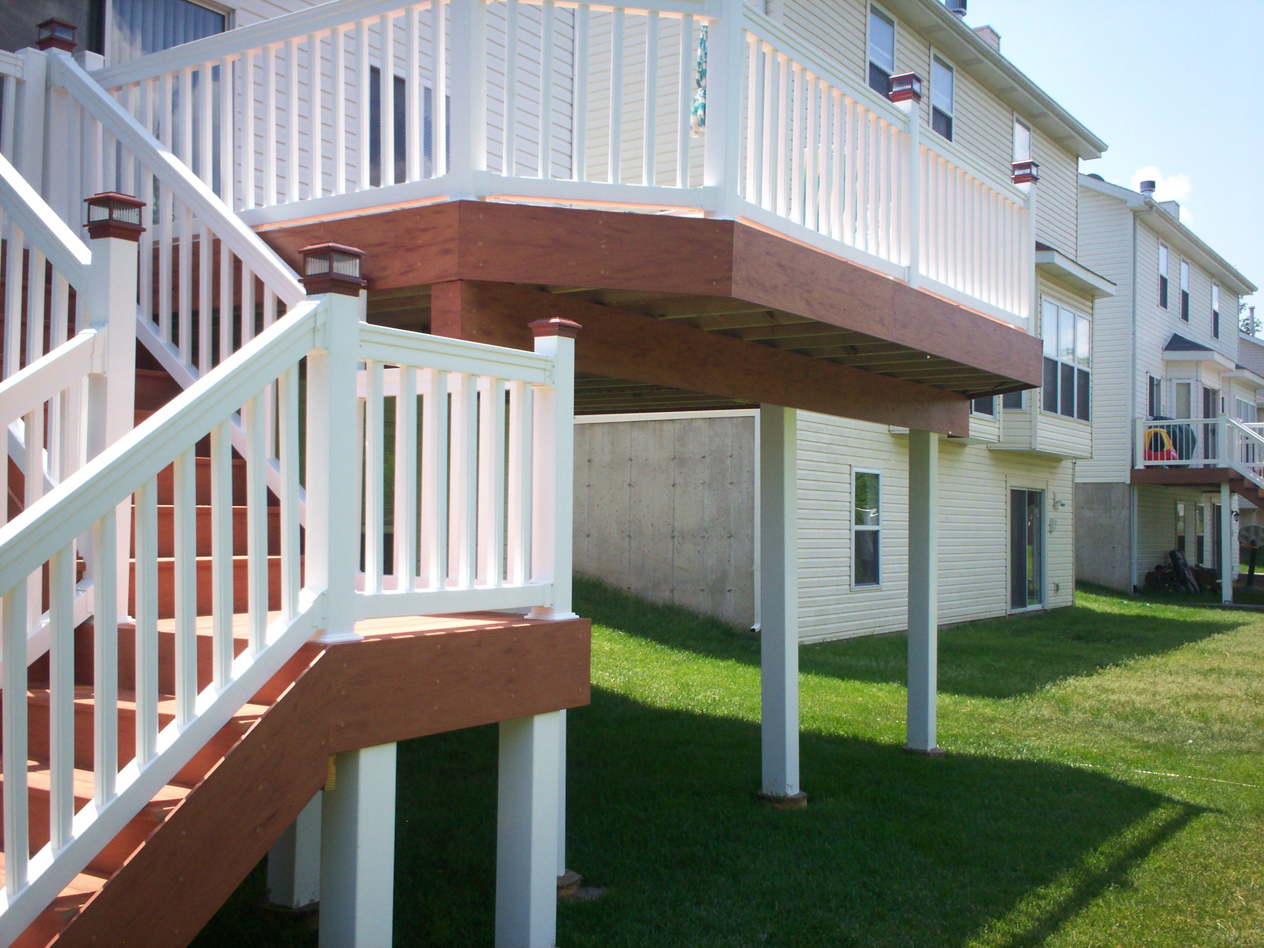 Deck Safety In St Louis And St Charles Structure Posts