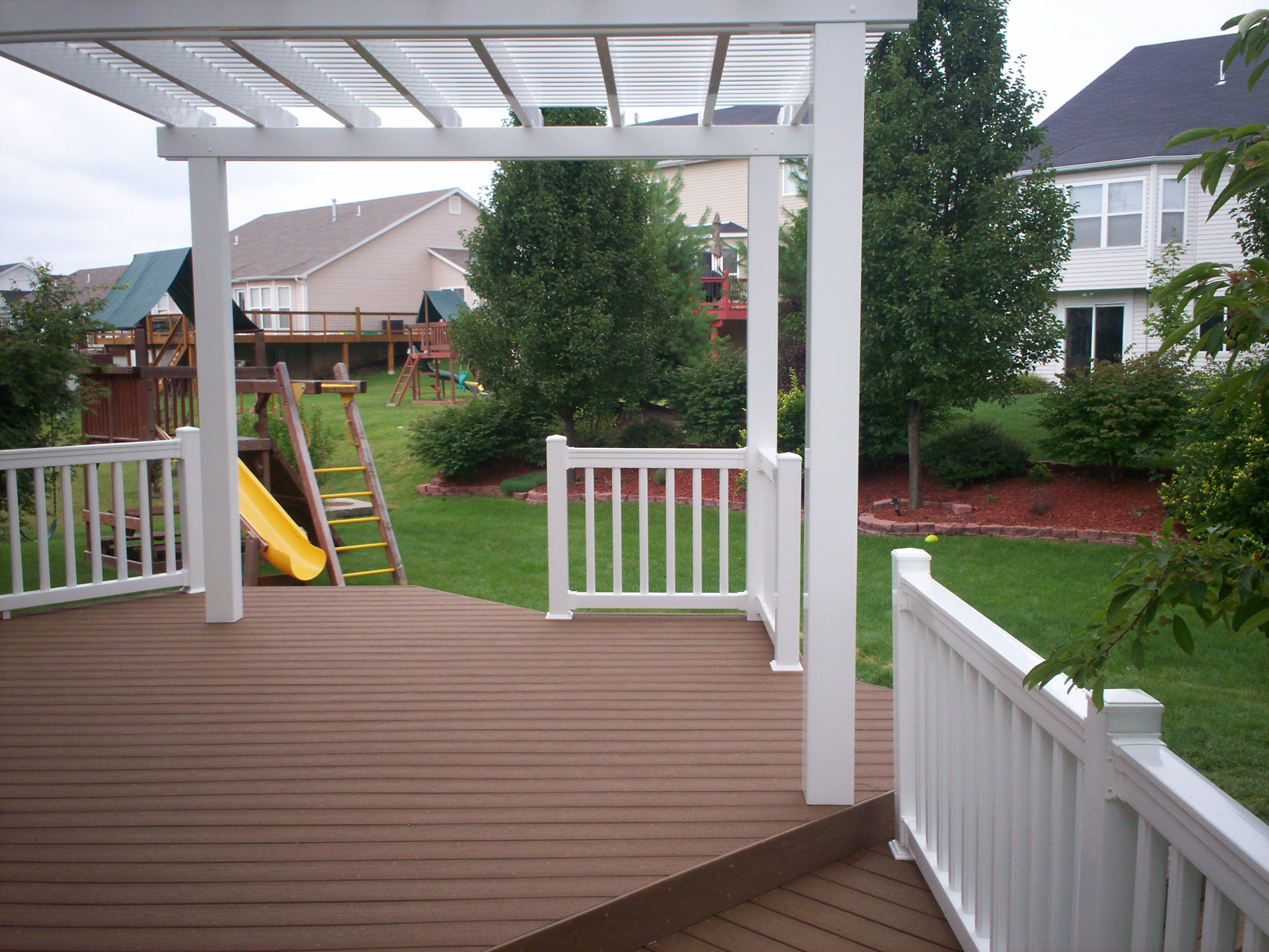 Platform Deck In St Louis St Louis Decks Screened