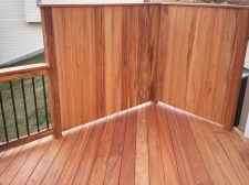 Tigerwood Hardwood Deck in St. Louis, Chesterfield area by Archadeck