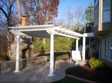 Free Standing Pergola in St. Charles County Mo by Archadeck