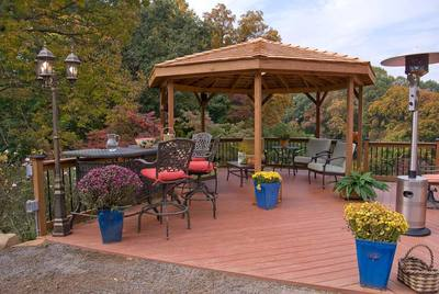 St Louis Gazebos Adding A Gazebo To Your Deck St