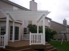 Platform Decks in St. Louis with Pergolas by Archadeck