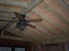Ceiling Fan for Screened Porch and Deck, St. Louis, by Archadeck