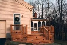 Decks and Porches by Archeck with Step Riser Lighting