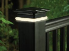 Deck Lighting, photo courtesy of TimberTech