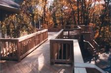 Decks by Archadeck with Dual Staircase