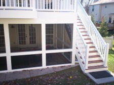 St. Louis Decks and Under Deck Screened Room by Archadeck