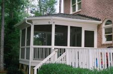 Screened Porch with Adjoining Deck by Archadeck