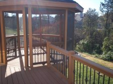 Screened Gazebo and Deck by Archadeck, St. Louis and St. Charles Mo