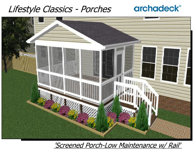 Screened porch designs st louis decks screened porches for Screened in porch ideas design