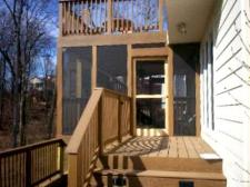 Composite Deck and Screened Porch, Chesterfield, St. Louis West County, Archadeck