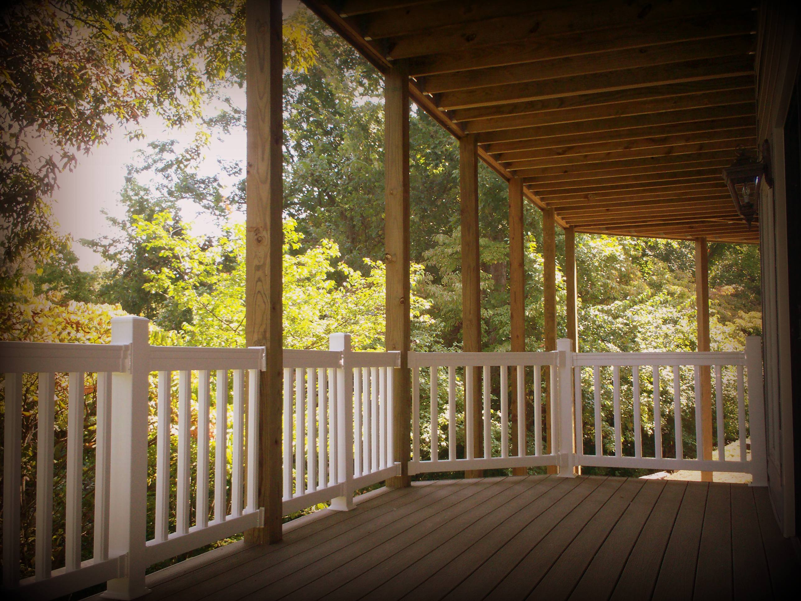 Backyard pavilions st louis decks screened porches for Coverd deck