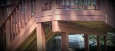 Detailed View of Proper Deck Construction by Archadeck, St. Louis Mo