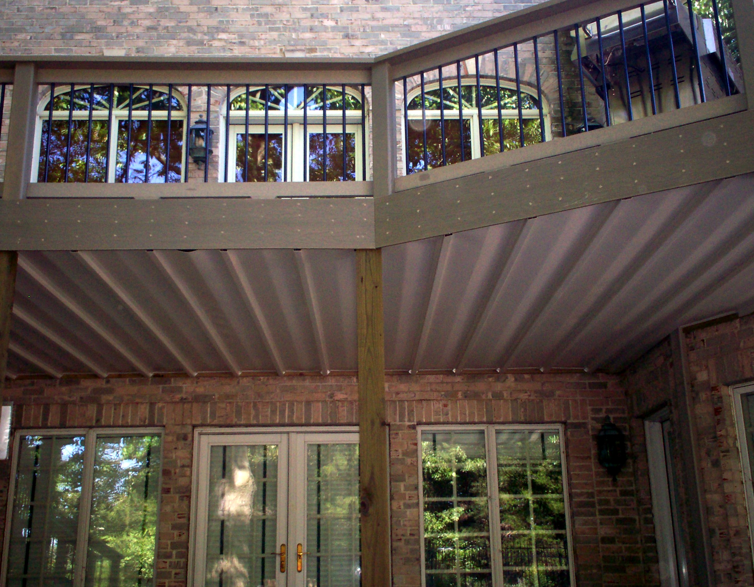 Under Deck Ceiling Covers Patio in St Louis