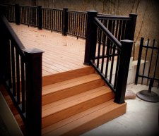 Vinyl Deck in St. Louis, Wildwood area, Archadeck