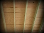 Wood Screened Porch Ceiling Finish, Chesterfield, Mo