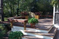 Ipe Deck with Benches