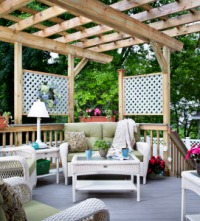 Pergola Design for an Outdoor Room by Archadeck