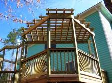 Decorative Deck Railing  for Elevated Deck by Archadeck