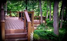 Multilevel Composite Deck, St. Louis, Mo by Archadeck
