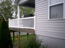 Covered Porch Deck by Archadeck in St. Louis, Fenton area