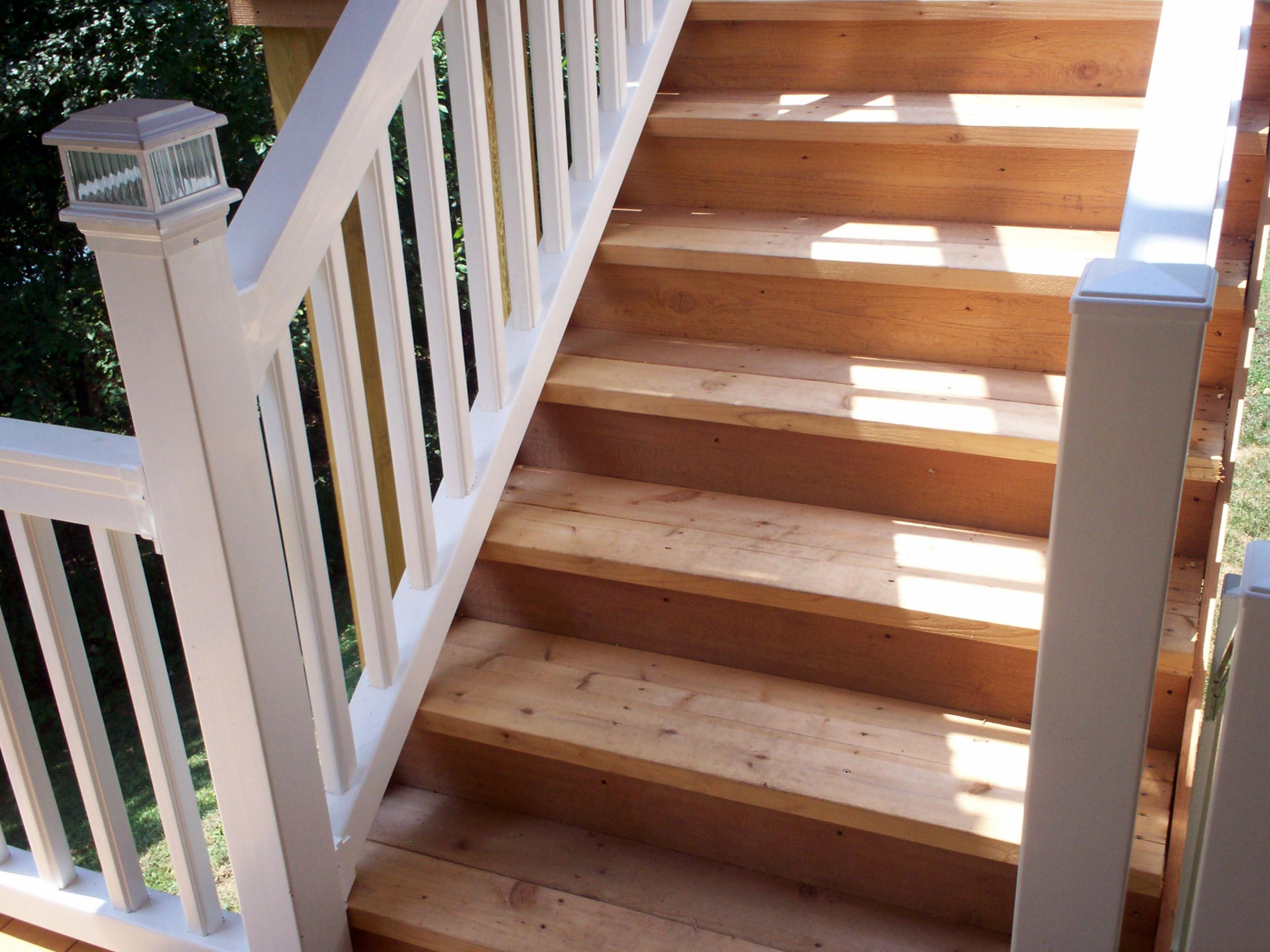 Luxury Vinyl Stair Treads