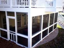 Deck and Screened Porch in St. Louis, Missouri by Archadeck