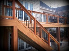 Hardwood Deck in St. Louis Mo designed and built by Archadeck