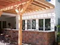 Pergola over Patio by Archadeck, St. Louis West County