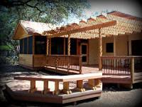 Custom Decks by Archadeck with Screened Porch, Pergola, Benches