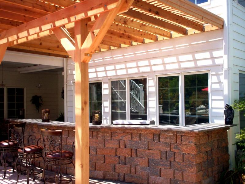 pergola designs timber