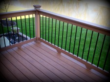 TimberTech Vinyl Decking in O'Fallon, Missouri - Project by Archadeck