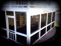 Under Deck Screened Porch Enclosure, St. Louis Mo by Archadeck